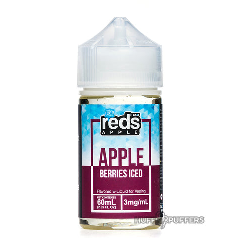 vape 7 daze - reds berries iced