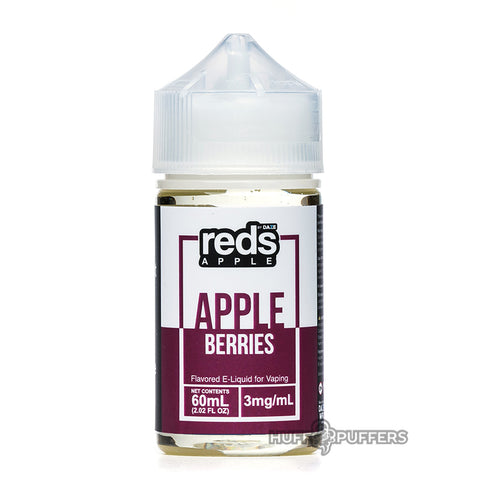 vape 7 daze - reds berries