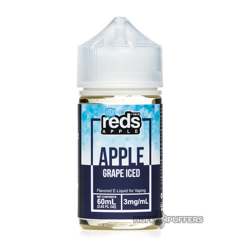 vape 7 daze - reds apple grape iced