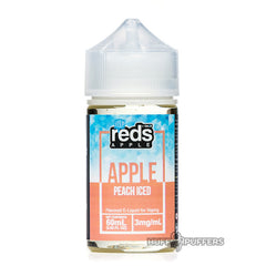vape 7 daze - reds apple peach iced