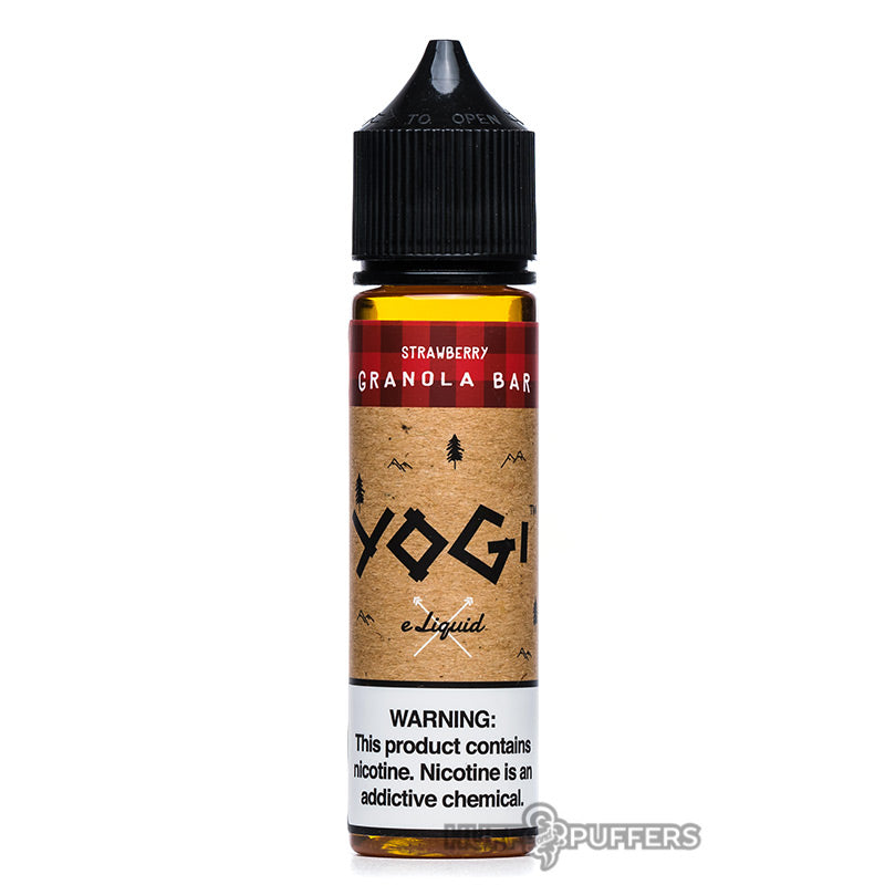 yogi strawberry granola bar 60ml e-juice bottle