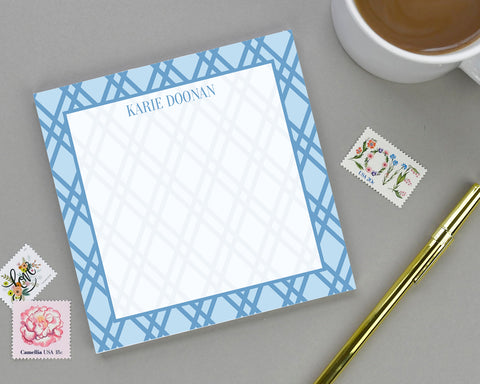 Geometric Patterned Personalized Notepad