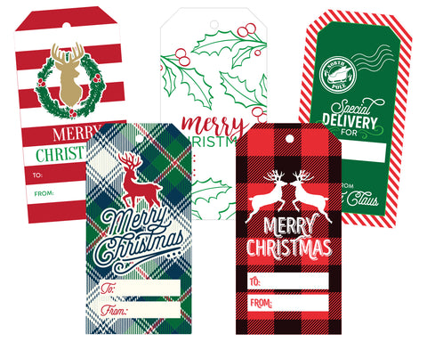 Christmas Gift Tags Variety Pack 2