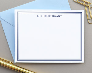 Classic Bordered Note Cards with Envelopes