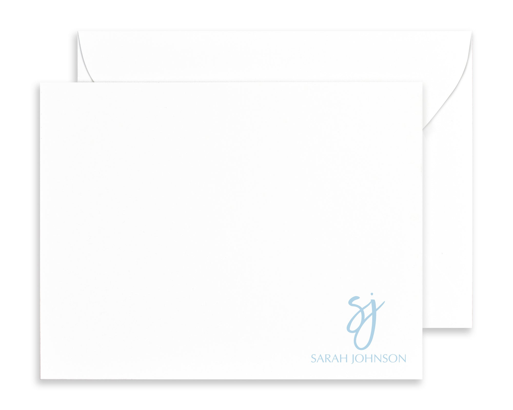 Modern Calligraphy Script Note Cards