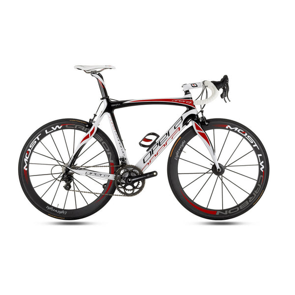 Opera Super Leonardo Carbon Fiber Dura Ace Bike - White