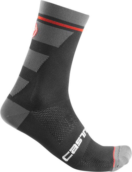 Castelli Mens Trofeo 15 Socks - Black