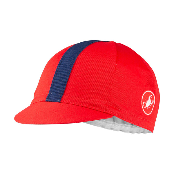 Castelli Espresso Cycling Cap - Red