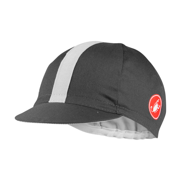 Castelli Espresso Cycling Cap - Dark Grey