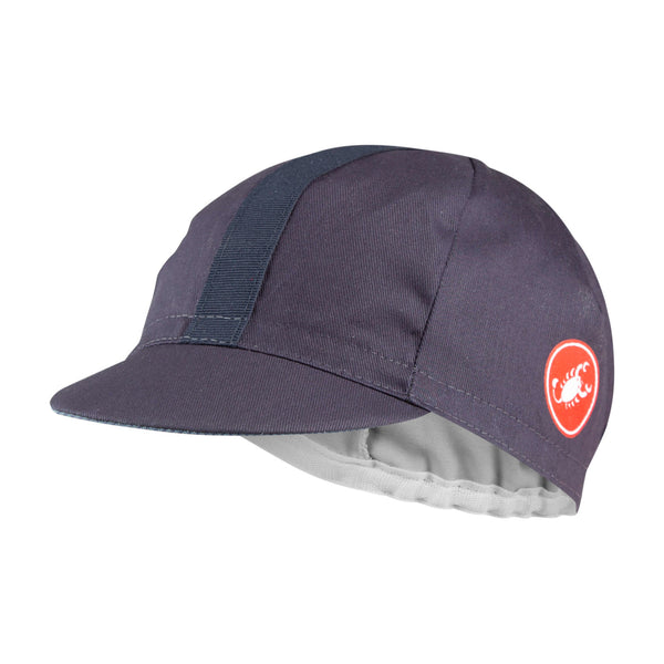 Castelli Espresso Cycling Cap - Dark Steel Blue