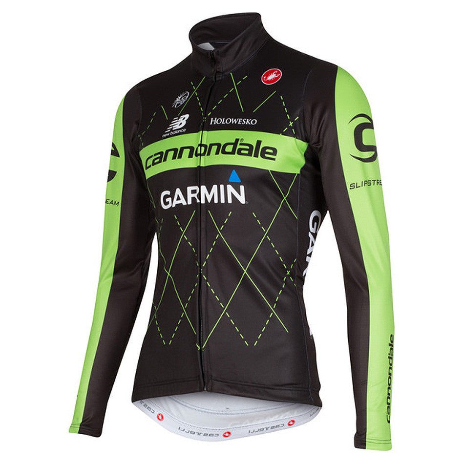 Castelli Mens Thermal Long Sleeve Jersey - Team Cannondale-Garmin