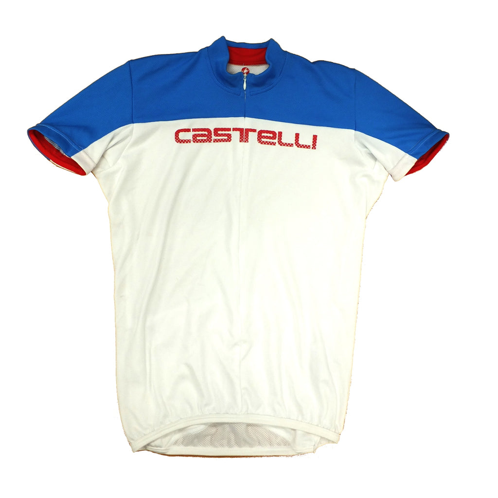 Castelli Mens Prologo HD Jersey - Blue/White