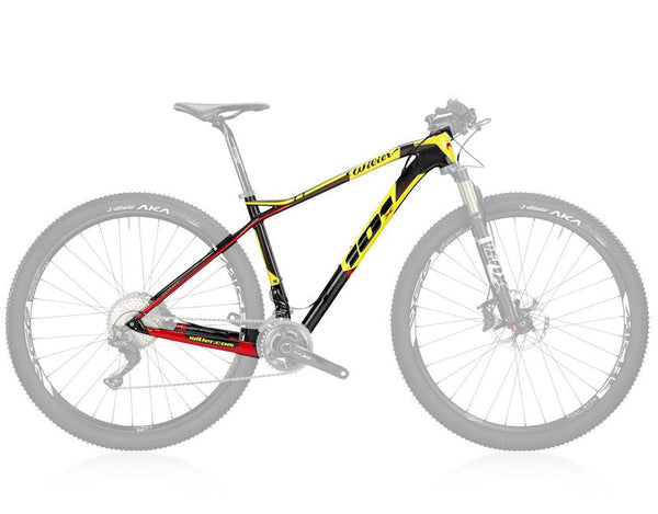 Wilier 101X Carbon Fiber MTB Frame - Black/Yellow