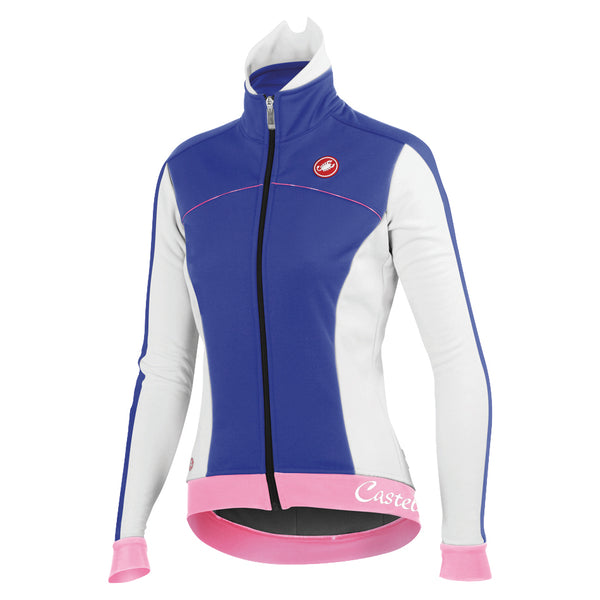 Castelli Womens Viziata Winter Jacket - Blue