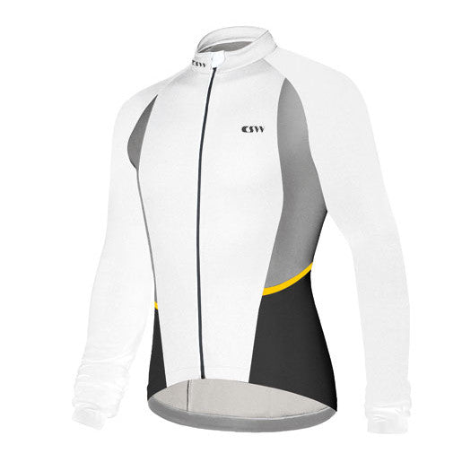 Campagnolo Womens Helyette Long Sleeve Jersey - White