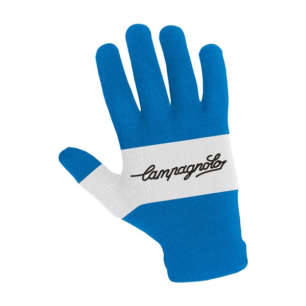 Campagnolo Retro Knit Glove - Blue / White