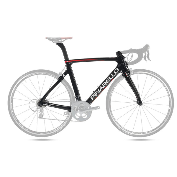 Pinarello Gan Carbon Fiber Frameset - Carbon Red