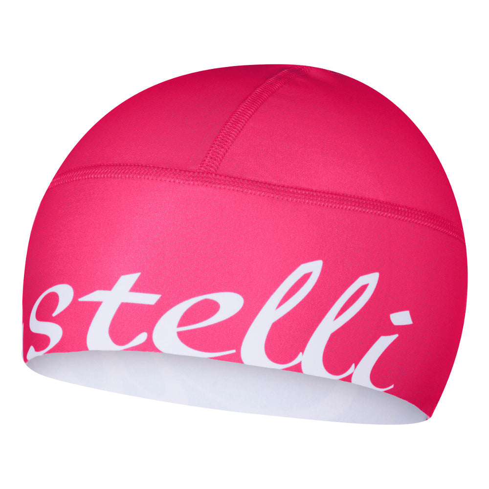 Castelli Winter Viva Donna Thermo Skull Cap - Electric Pink