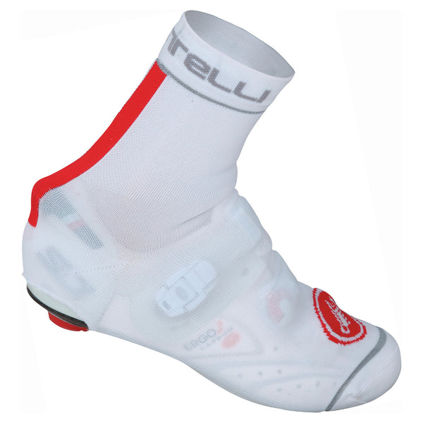Castelli Belgian Bootie Shoe Cover - White/Red