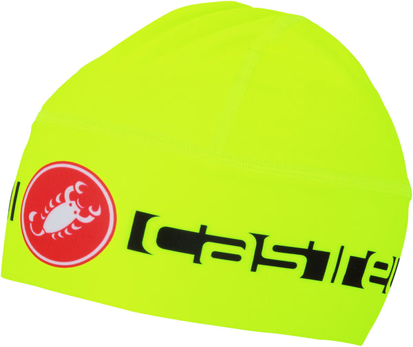 Castelli Winter Viva Thermo Skull Cap - Fluro Yellow