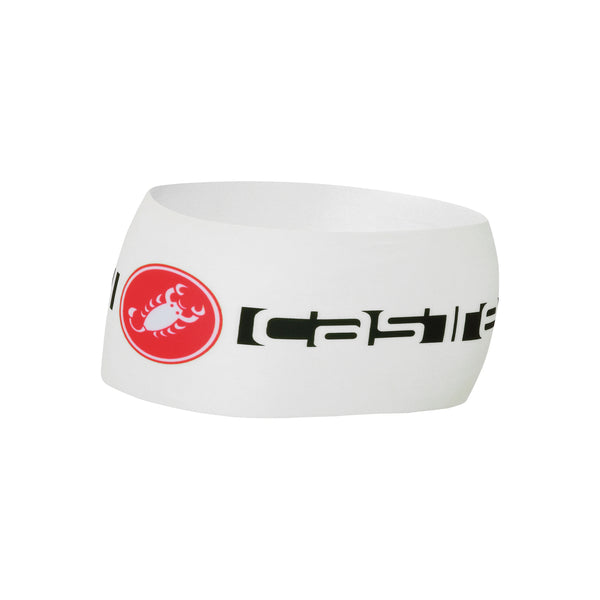Castelli Winter Viva Thermo Headband - White
