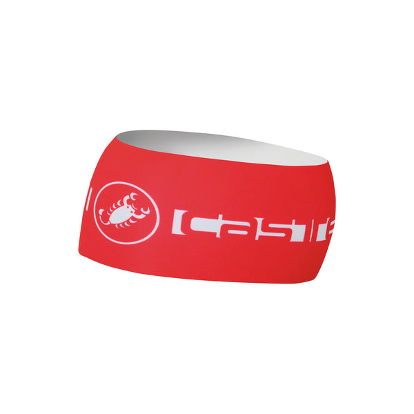 Castelli Winter Viva Thermo Headband - Red