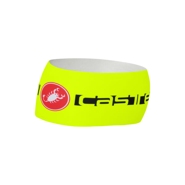 Castelli Winter Viva Thermo Headband - Fluro Yellow