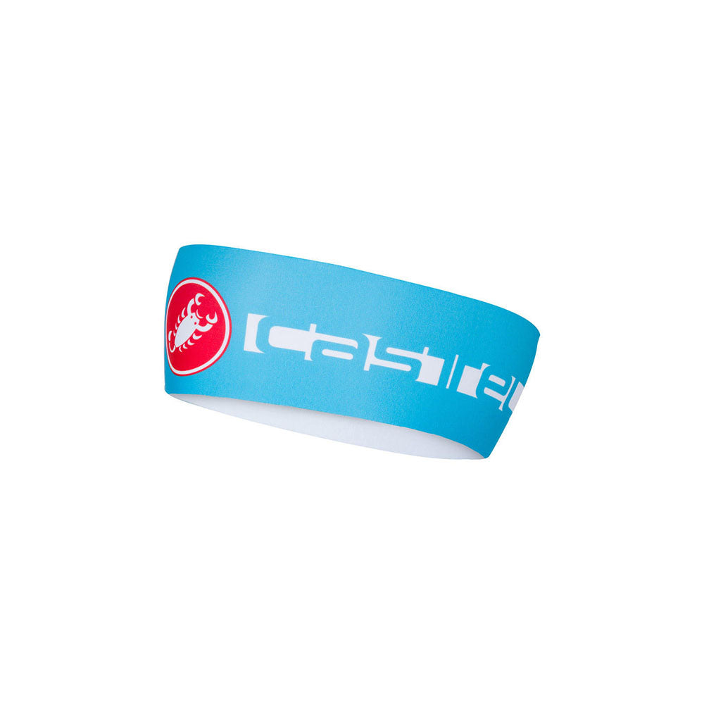 Castelli Winter Viva Thermo Headband - Sky Blue