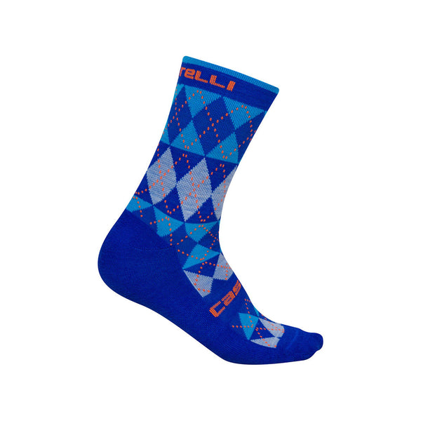 Castelli Mens Diverso Merino Socks - Ceramic Blue