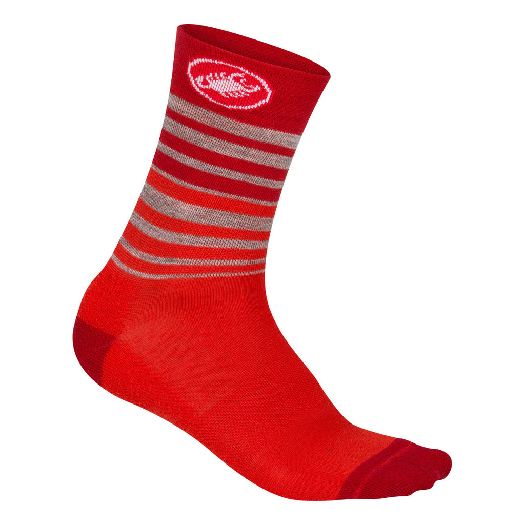 Castelli Womens Righina Socks - Red