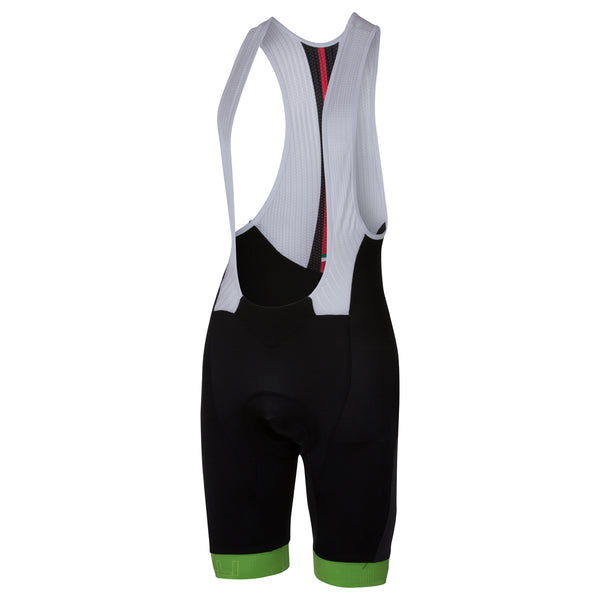 Castelli Mens Velocissimo Bibshorts - Black Green