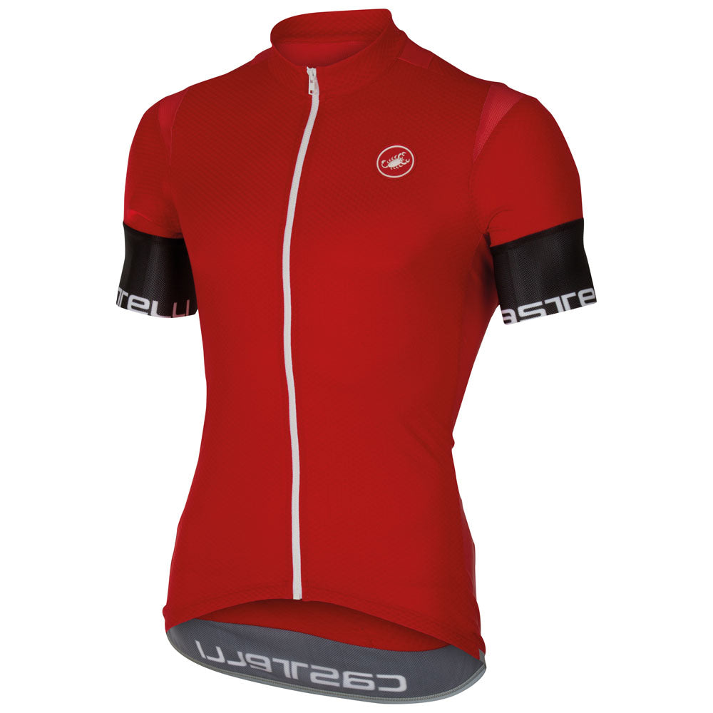 Castelli Mens Entrata 2 Jersey - Red