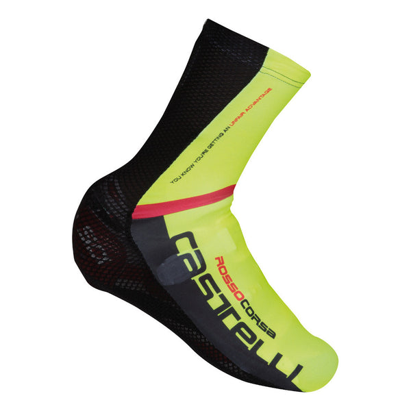 Castelli Aero Race Shoecover - Fluro Yellow