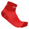 Castelli Womens Rosa Corsa Socks - Red