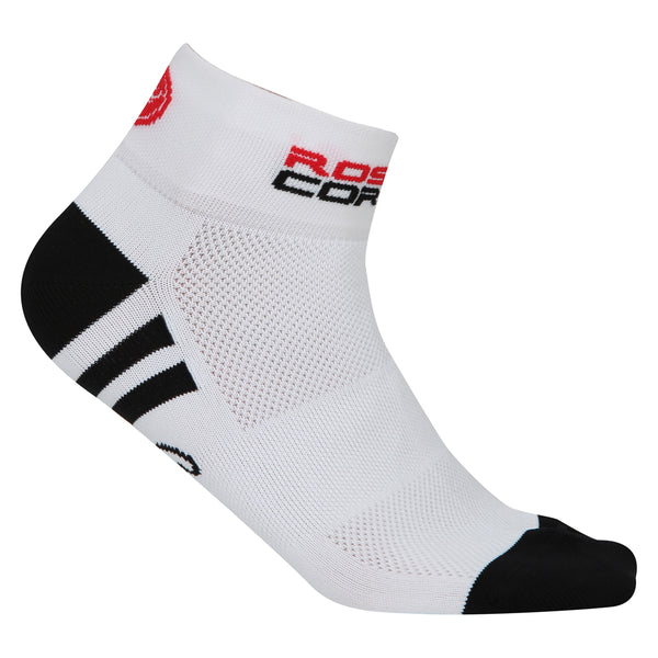 Castelli Womens Rosa Corsa Socks - White / Black