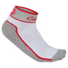 Castelli Womens Impalpable Cycling Socks - Grey