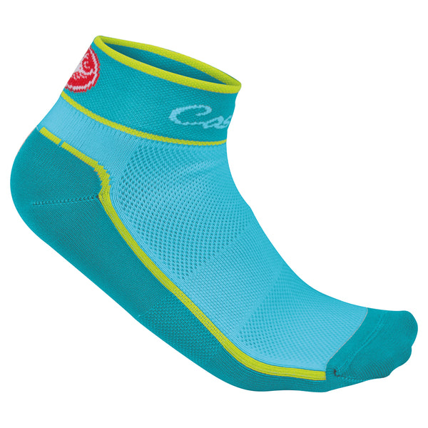 Castelli Womens Impalpable Cycling Socks - Caribbean Blue