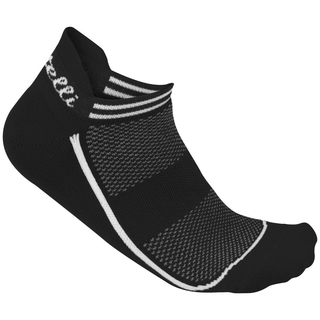 Castelli Womens Invisible Cycling Socks - Black