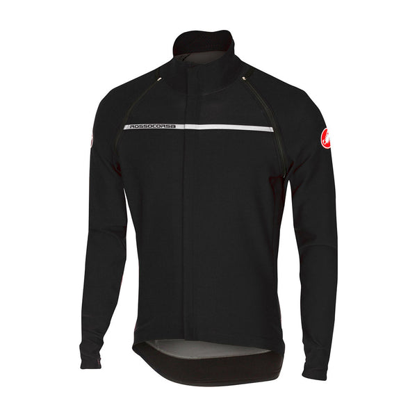 Castelli Mens Perfetto Convertible Jacket - Light Black