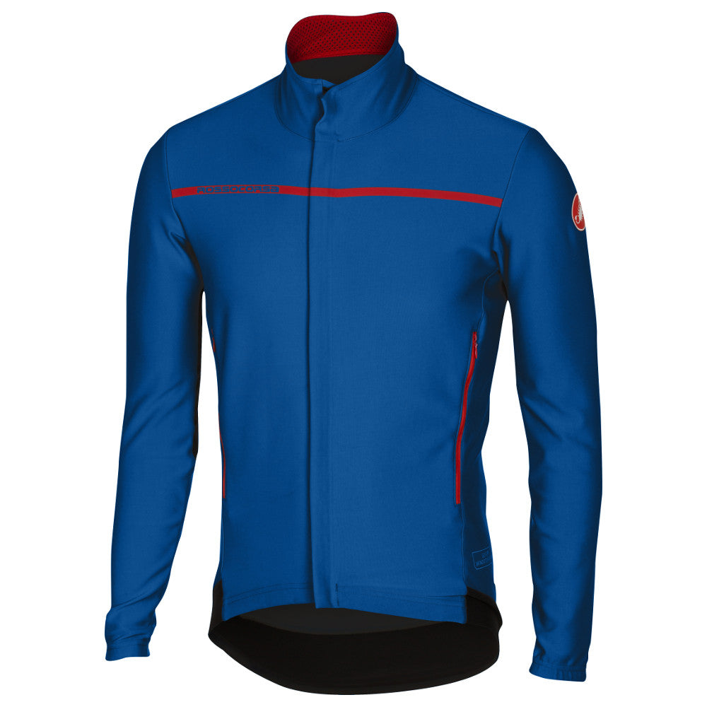 Castelli Mens Perfetto Long Sleeve Jacket - Surf Blue