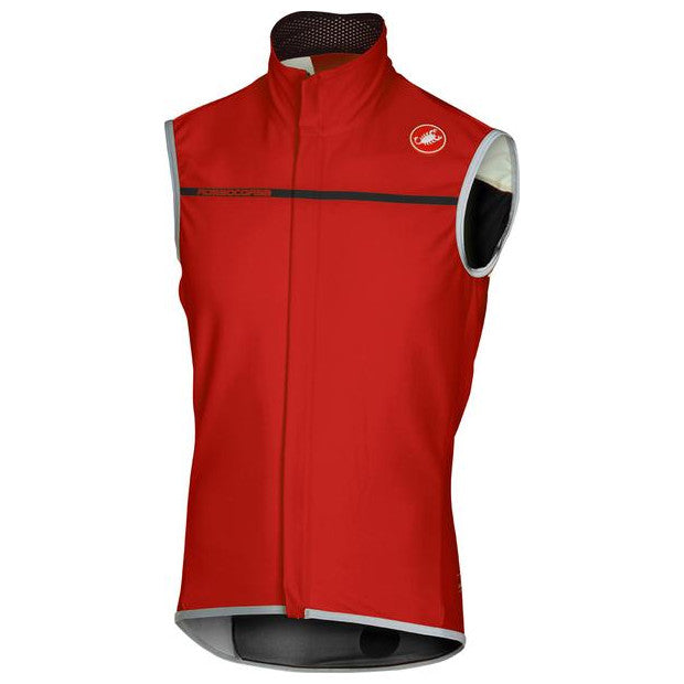 Castelli Mens Perfetto Cycling Vest - Red