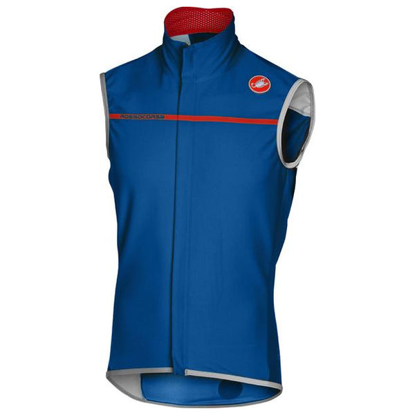 Castelli Mens Perfetto Cycling Vest - Surf Blue