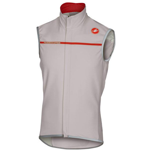 Castelli Mens Perfetto Cycling Vest - Luna Grey