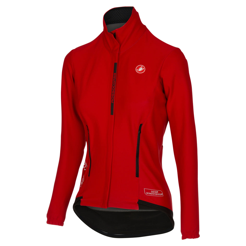 Castelli Womens Perfetto Jacket - Red