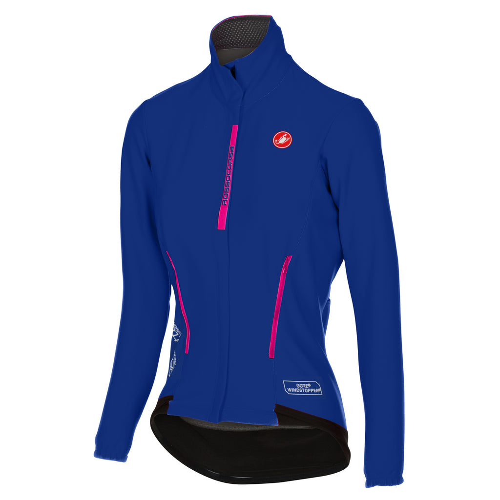 Castelli Womens Perfetto Jacket - Surf Blue