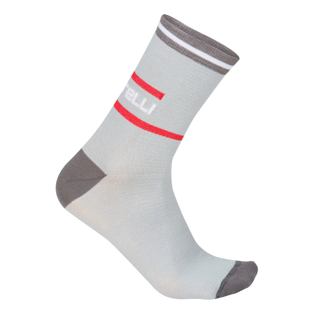 Castelli Mens Incendio Socks - Grey