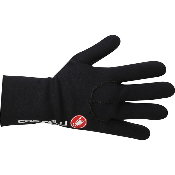Castelli Mens Diluvio Light Gloves - Black/Red