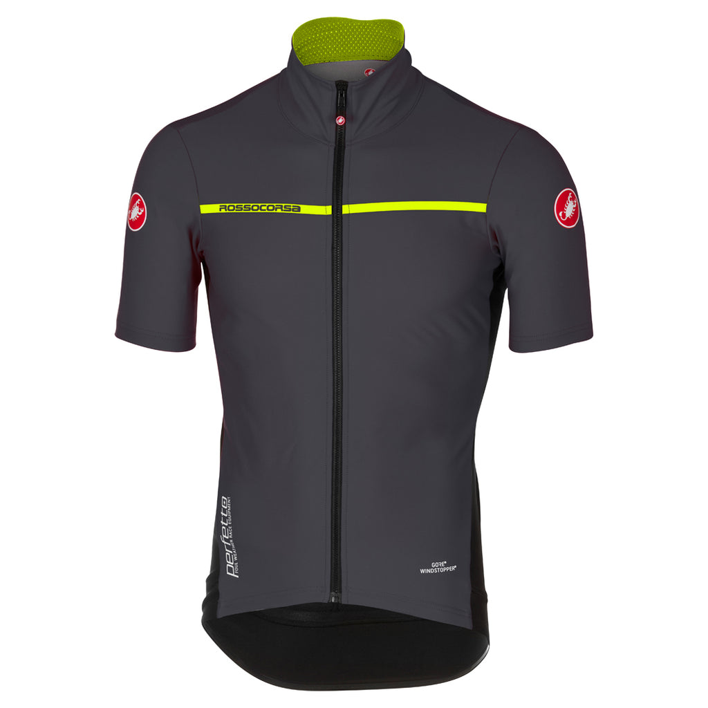 Castelli Mens Perfetto Light 2 Jersey - Anthracite