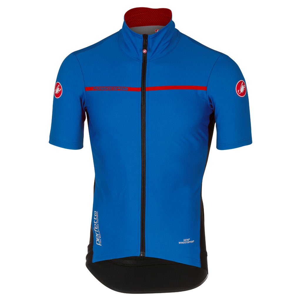 Castelli Mens Perfetto Light 2 Jersey - Surf Blue