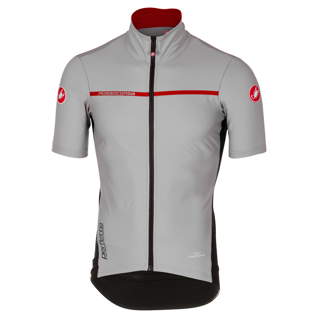Castelli Mens Perfetto Light 2 Jersey - Luna Grey – Open Road Cycles 72a494368